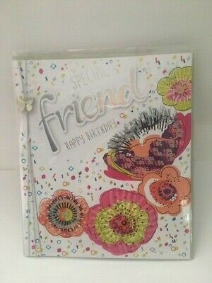 Special Friend Birthday Card Fizz by Noel Tatt