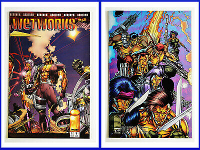 Wetworks Set Of 2 #1 & #2 Image, 1994 VF+ Comic Books