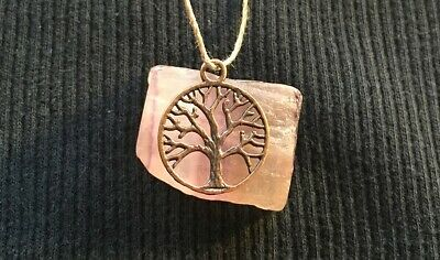 686 Wealth Money & Luck Spells Bronze Tree Of Life Wiccan Magick Pendant RARE