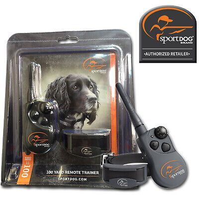SportDOG 100 Yard Trainer Remote Dog Training Collar Shock Trainer YT-100