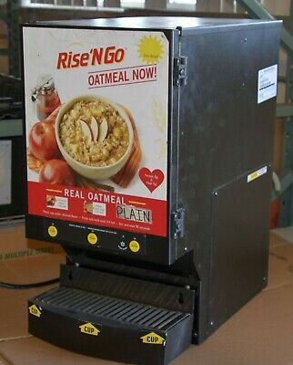 Retail Oatmeal Dispensing System Wilbur Curtis CAFE OAT3017-1 2 available