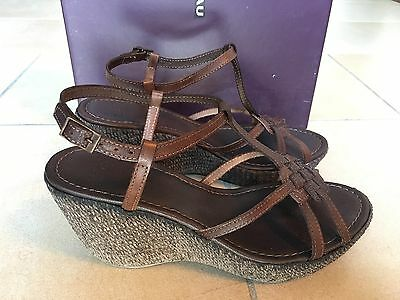 SANDALI FRAU DONNA  ZEPPA IN CAMOSCIO 83A4 CAMPESINA TAUPE MADE IN ITALY SHOES