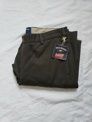 1256339ad11 NWT Bills Khakis M2 Classic Fit 100% Cotton Gray Flat Front Trousers W36 L32