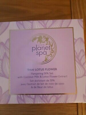 Avon Planet Spa Thai Lotus Flower Gift Set 1648 Picclick Uk