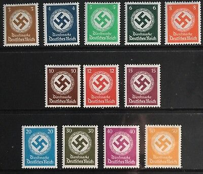 Germany Third Reich 1934 Swastikas issues MLH