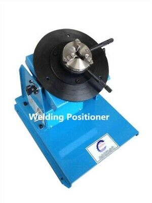 2-18RPM 10Kg Light Duty Welding Turntable Positioner With 80Mm Chuck 110/220V qi