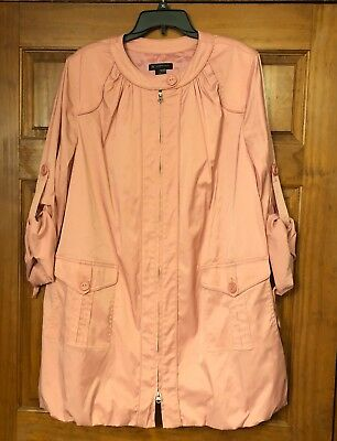 d46355a9f93 INC International Concepts  129 Lined Trench Coat Size XL NWT New with Tags