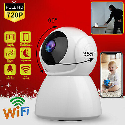 Mini Camera Wireless Wifi IP Home Security FHD 1080P DVR Night Vision Remote