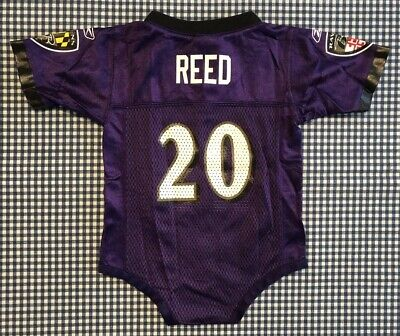 timeless design 26b91 f9fb2 ED REED BALTIMORE Ravens Baby Toddler Jersey Size 24 Months ...