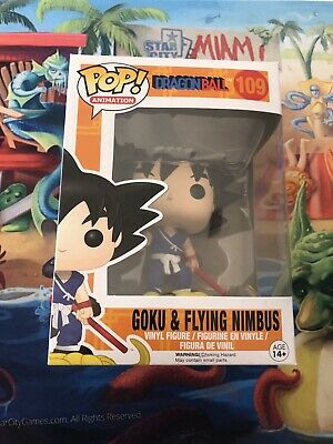 Funko Pop Goku & Flying Nimbus