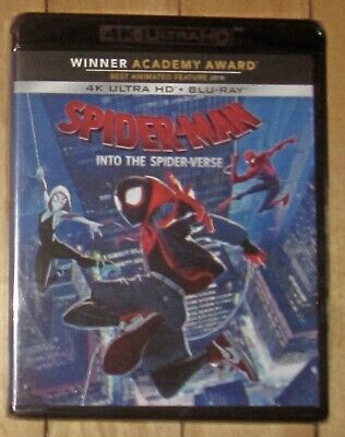 Spider-man: Into The Spider-Verse Ultra 4k UHD/Blu-ray/Digital