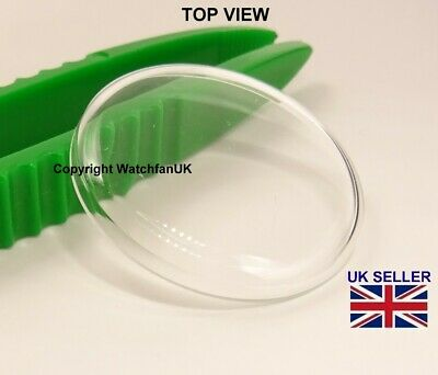 Watch Glass Acrylic Crystal - High Domed - Dia range 17 mm to 40mm