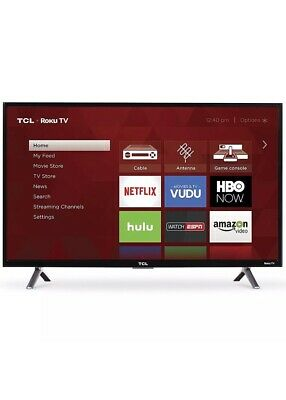 "TCL 32"" Roku Smart LED HDTV with 720p Resolution 60Hz Refresh Rate Brand New"