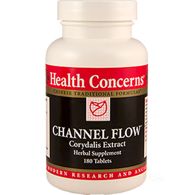 Health Concerns Channel Flow 180 tabs - Exp Date 06/2021