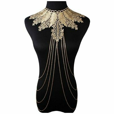 Lace Body Jewelry Chain Body Necklace N6N3