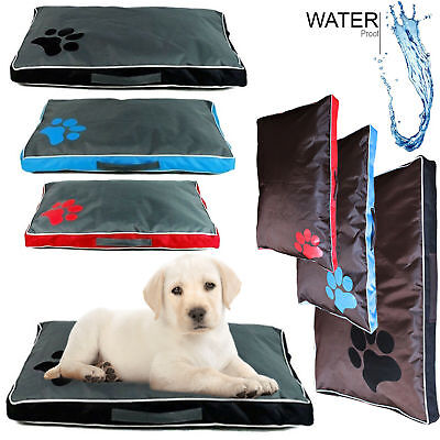Double Sided Waterproof Dog Pet Cat Bed Mat Soft Warm Cushion Mattress Washable