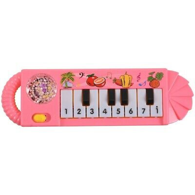 Baby Infant Toddler Kids Musical Piano Developmental Toy Early Educational P5W1