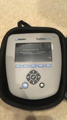 Rigel Medical, Patient Simulator PATSIM200 ECG iBP Temperature New