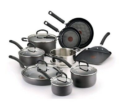 Nonstick Cookware Pot and Pan Set Kitchen Professional Gas Induction Cooking NEW