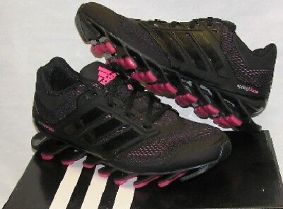 the latest ccff6 6699d Adidas Springblade Drive Women s Running Shoes D73958 Black Pink SIZE 5 US