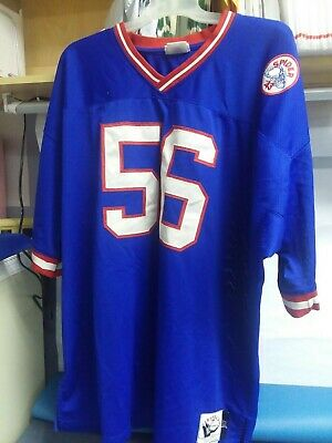 Lawrence Taylor   56 Mitchell   Ness Spider 5XL NY Giants 1986 Throwback  Jersey. 76107e785