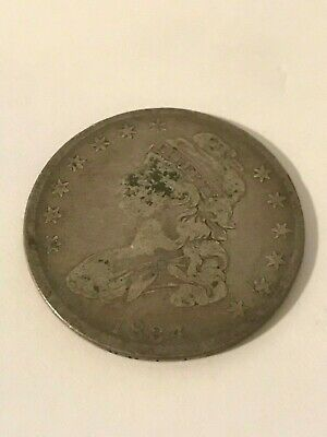 1834 Capped Bust Half Dollar #16383