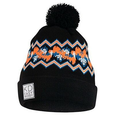bdaafc06cbbe1 Brand New with Tags Adult unisex Nike KD Beanie Black  Photo Blue  Bright  Citrus