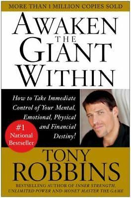 Awaken the Giant Within : How to Take Immediate Control AUDIOBOOK INSTANT