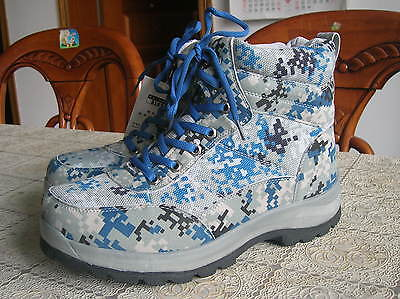 07's series China PLA Air Force Digital Camo Training Combat Boots,Winter