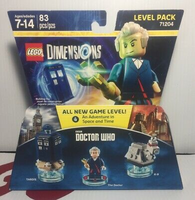Lego 71204 Dimensions Doctor Who Level Pack BBC 12th Doctor Tardis & K-9 New