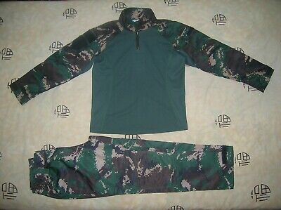 07's series China PLA FROG Special Forces Digital Camouflage Jacket,Pants,A