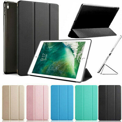 """AU For iPad 6th Gen 9.7"""" 2018 Ultra Slim Magnetic Leather Smart Case Stand Skin"""