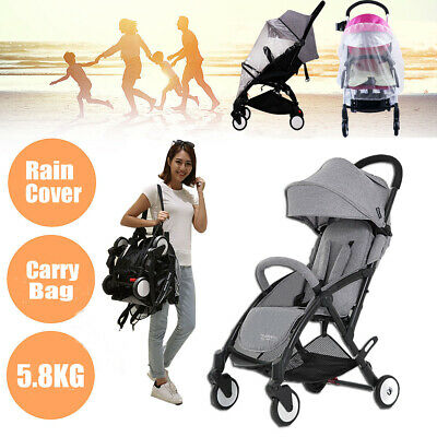 Foldable Baby Stroller Pram Portable Compact Lightweight Jogger Travel Carry-on