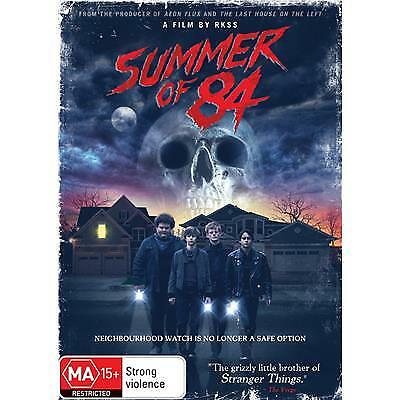 Summer Of 84 Dvd, New & Sealed, 2018 Release, Region 4, Free Post