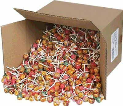 NEW Chupa Chups 100 Lollipops Bulk Lollies Jar Assorted Flavours FREE POSTAGE