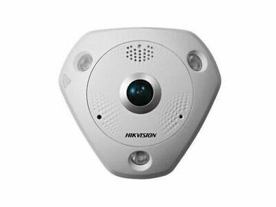 HIKVISION 3MP Outdoor Fisheye 360, 3D DNR, WDR, IR, IP66, Panoramic Capable