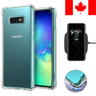 SHOCKPROOF CLEAR TRANSPARENT SOFT CASE COVER FOR SAMSUNG GALAXY S10e