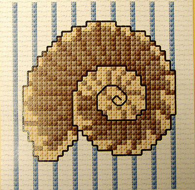 Sea Shell #2 - Semco easy-to-do counted cross-stitch kit