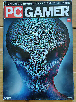 PC Gamer magazines 2016 - Subscriber editions - The complete set of 13 issues.
