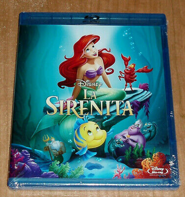 The Little Mermaid Disney Classic Number 28 Blu-Ray New Sealed (Unopened) R2