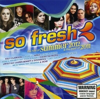 SO FRESH Hits Of Summer 2012 & Best 2011 2CD Adele Gotye Rihanna Lady Gaga Ke$ha