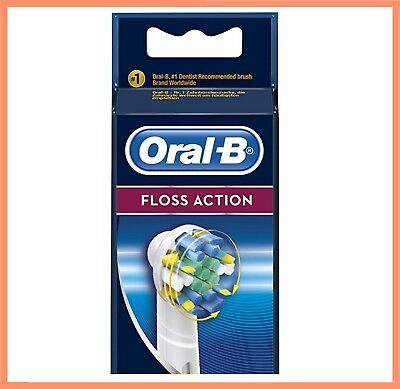 ORAL-B BRAUN FLOSS ACTION Electric Toothbrush Replacement Brush Heads