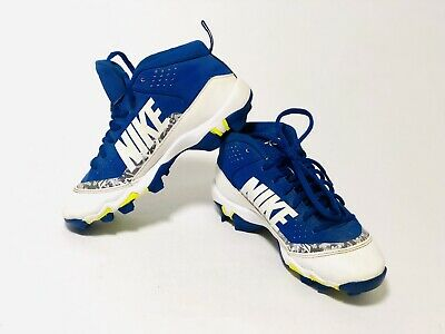 649c71869b8 NIKE FORCE TROUT 4 KEYSTONE BASEBALL CLEATS SHOES 12 ROYAL AH7007 441 Size  2.5