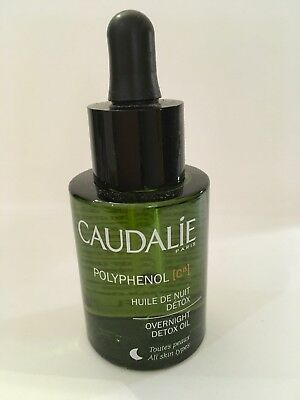 CAUDALIE VINE[ACTIV] Overnight Detox Oil 1oz, 30ml Skincare Serum New