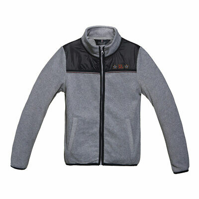 Kingsland Kinder Fleecejacke Bath dark grey