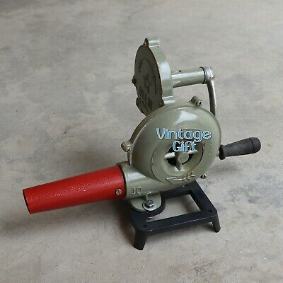 Forge Furnace's Hand Blower Fan Old Style Pedal Type Handle