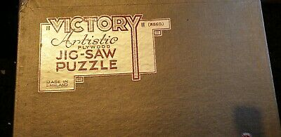Vintage Victory Gold Box Artistic Jigsaw MEANWHILE BACK AT CAMP 1000 PIECES Puzzles