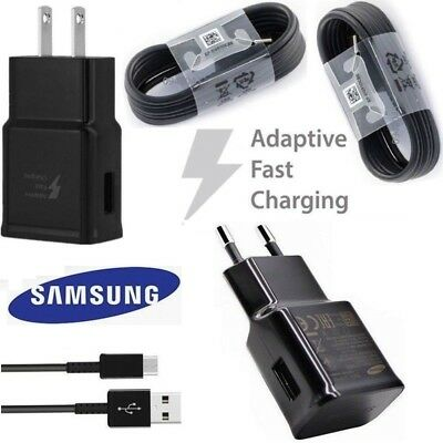 Original Adaptive Fast Wall Charger Cable For Samsung Galaxy S8 S9 Plus Note9 10