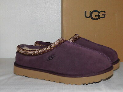 34a49e9d1892 New In Box Womens Size 12 Port Ugg Tasman Classic Suede Sheepskin Slippers  5955