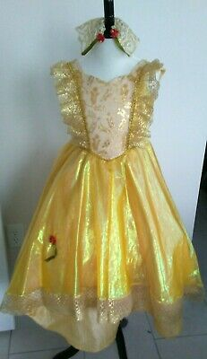 Handmade Quality Disney Inspired-Beauty and the Beast Belle Costume- Size 5/6